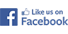 Facebook Logo - Like us on Facebook