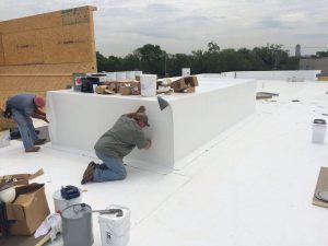 TPO Roofing Flat Roof