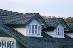 Asphalt Composition Shingles on Residential Roof