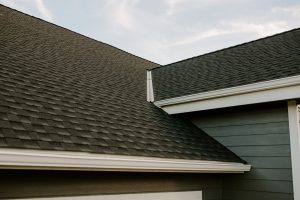 GAF Timberline HD Architectural Shingles in Charcoal on Residential Roof Ten