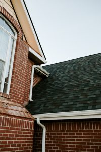 Malarkey Vista Architectural Shingles in Black Oak on Residential Roof Second Side View