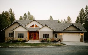 Malarkey Highlander NEX Architectural Shingles in Natural Wood on Residential Roof