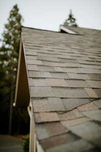 Malarkey Highlander NEX Architectural Shingles in Natural Wood on Residential Roof Third Closeup