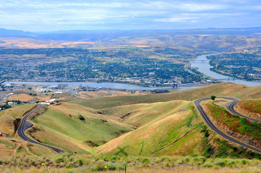 Lewiston, ID and Clarkston, WA, Snake River