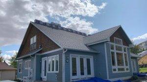 Roof Prior to GAF Timberline HD Architectural Shingles in Charcoal on Residential Roof